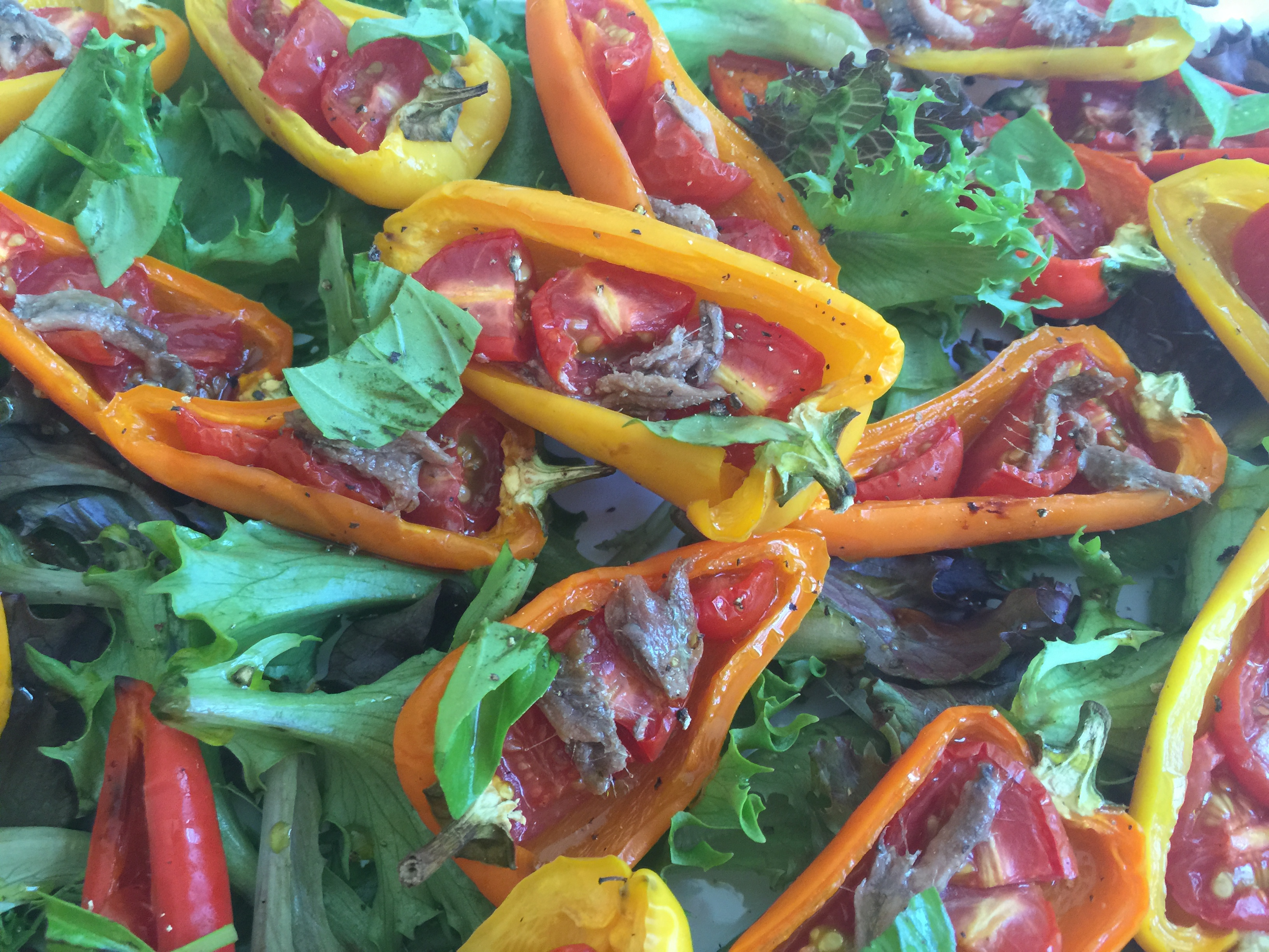 Roasted Sweet Peppers