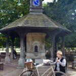 Time Flies Clock Tower outside Princess Diana's Memorial playground