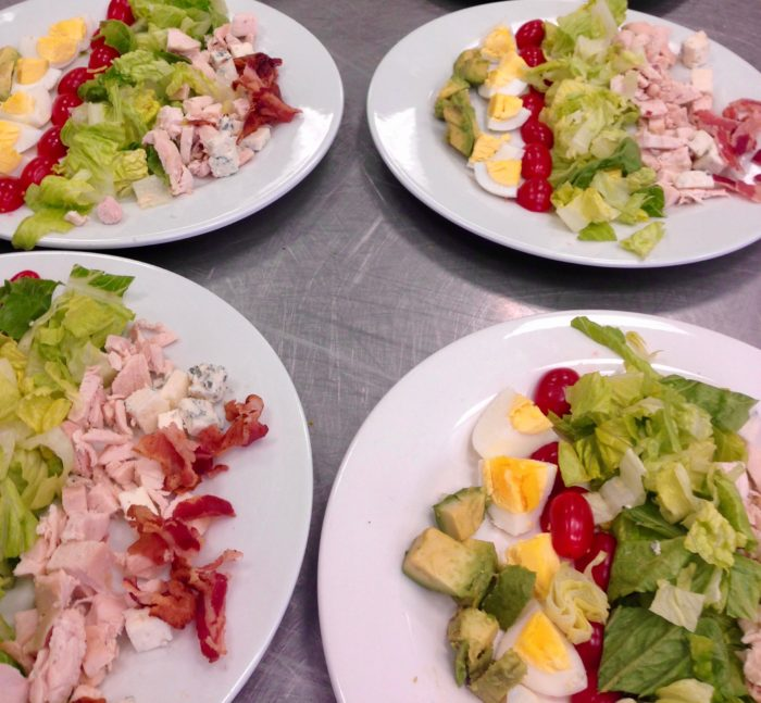 Cobb Salad for 100 at the DCA