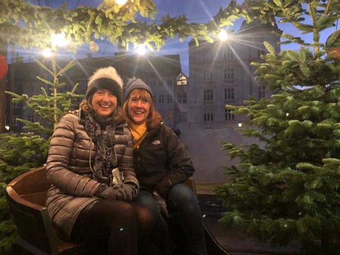 Sit in a sleigh in Nyhavn!