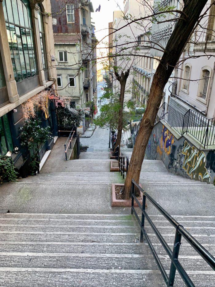 Parisian Walkways in Istanbul