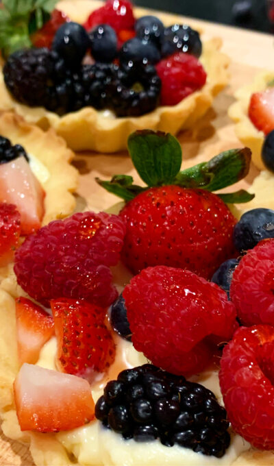 Absolutely Fabulous Fruit Tarts