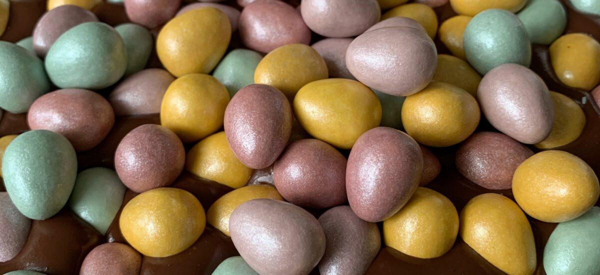Easter Chocolate Ganache Cake