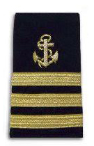 Vice Commodore anchor stripes