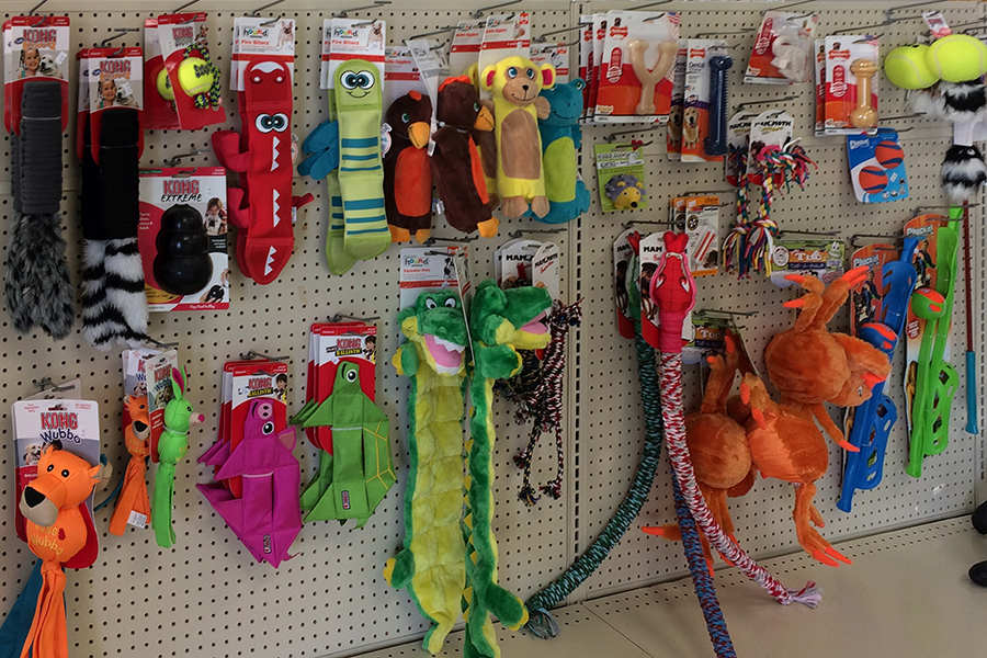 Oak Harbor Pet Haven_Toys_showroom