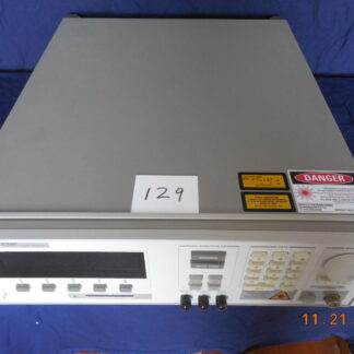 #129 HP8168F Tunable Laser Source