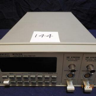 HP8153A Lightwave Multimeter