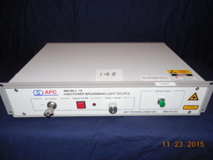 High Power Broadband Light Source
