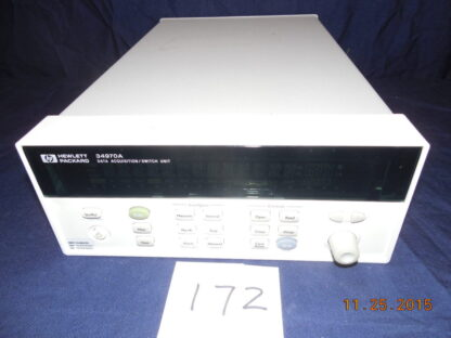 HP34970A Data Acquisition/Switch