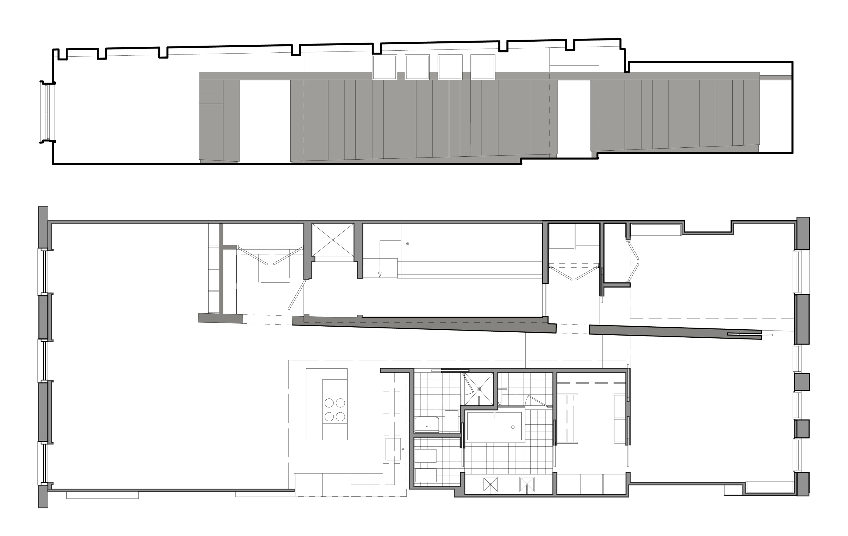 Plan + Elevation-back-bay