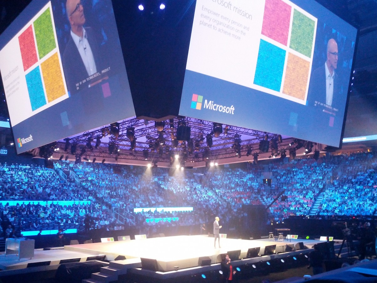 Cloud First, VR First. Where's mobile first? Microsoft WPC 2016