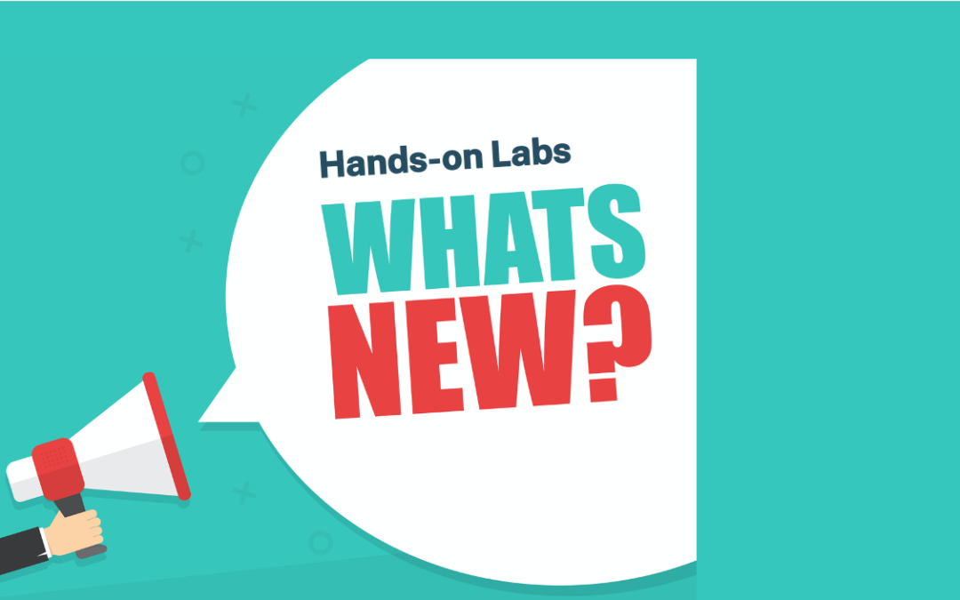 New Hands-On Labs – April