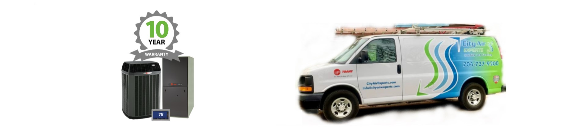 <p>City Air Experts serves Charlotte and the surrounding areas. Call us for a free estimate to replace your unit. Thank you for your business.</p>