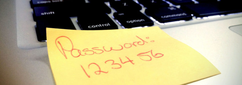 "Using ""Three"" To Create a Strong Password"