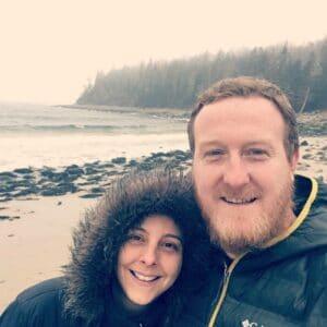 Casal brasileiro no Canadá