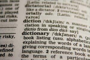 dictionary 390055  480 300x200 - GLOSSÁRIO