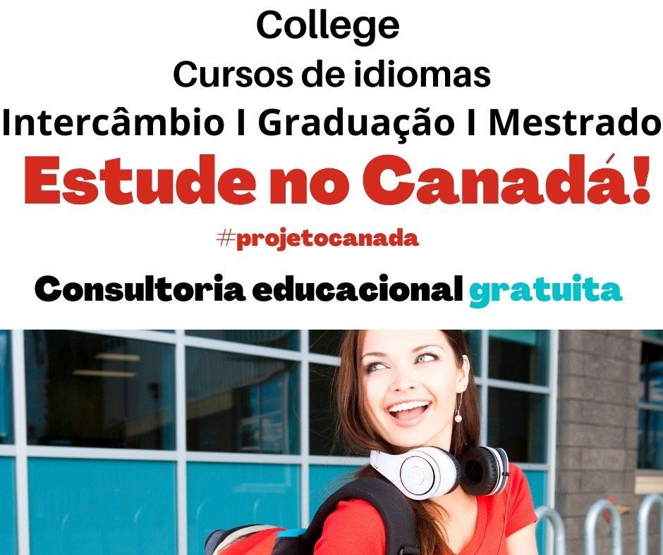 Estude no Canadá