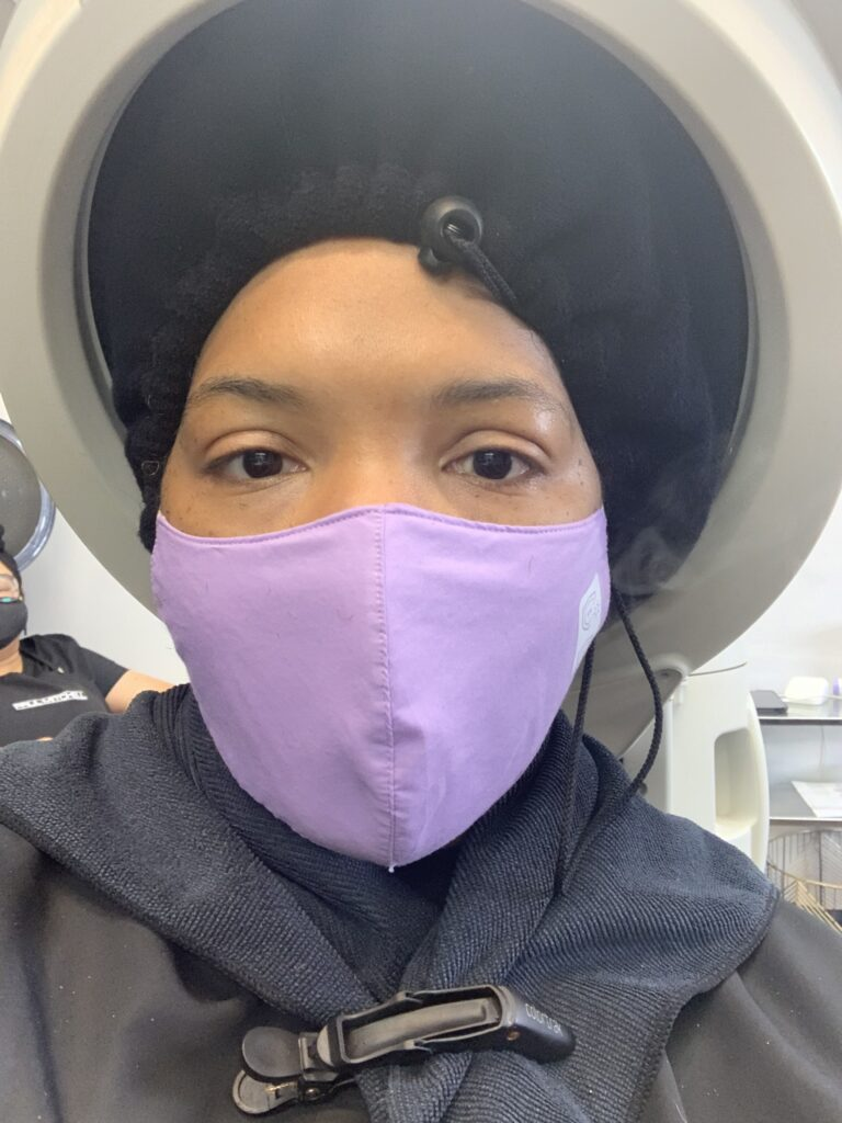 My First Hair Appointment During the Pandemic - image  on https://iamtheflywidow.com