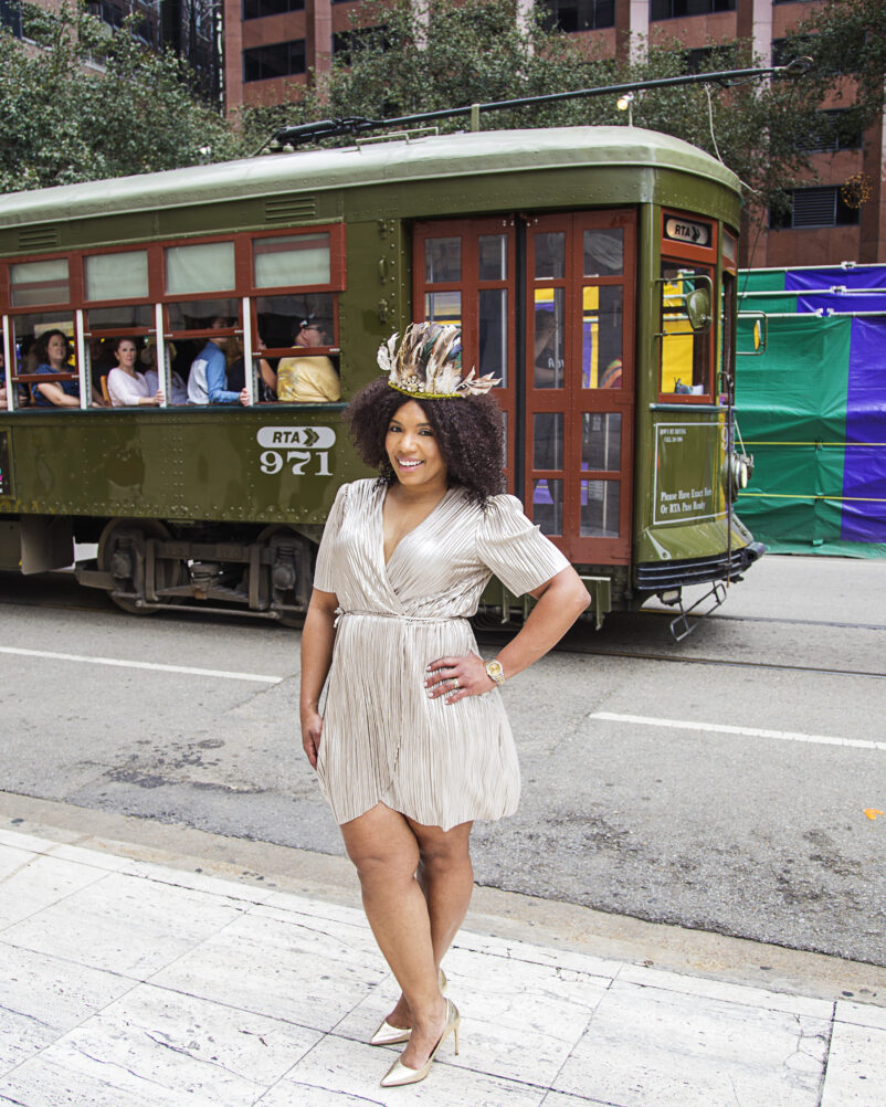 Things to do in New Orleans during August - image britt-smith-photography-nola-bougie-mardi-gras-015-802x1002 on https://iamtheflywidow.com
