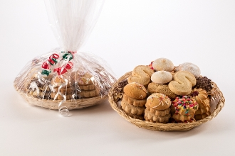 2lb Assorted Cookie Tray Wrapped
