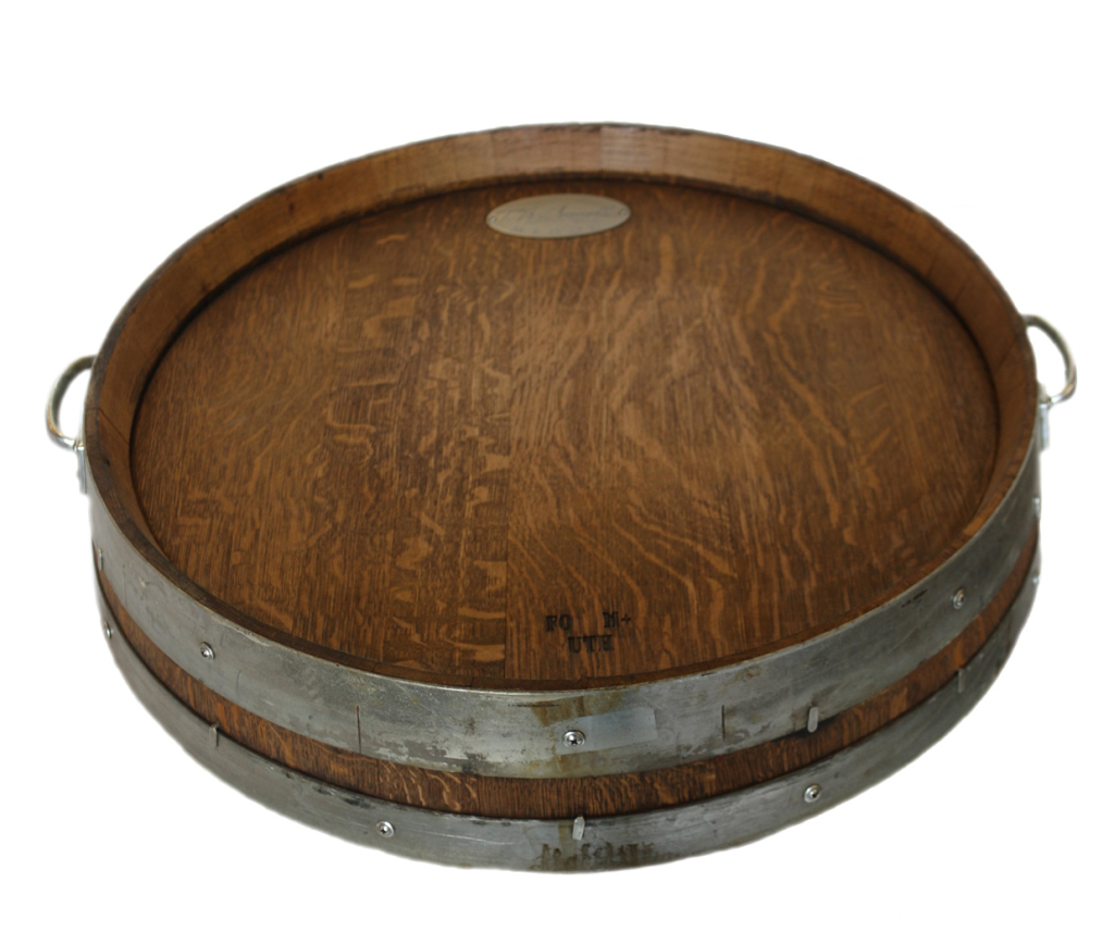 barrel head tray