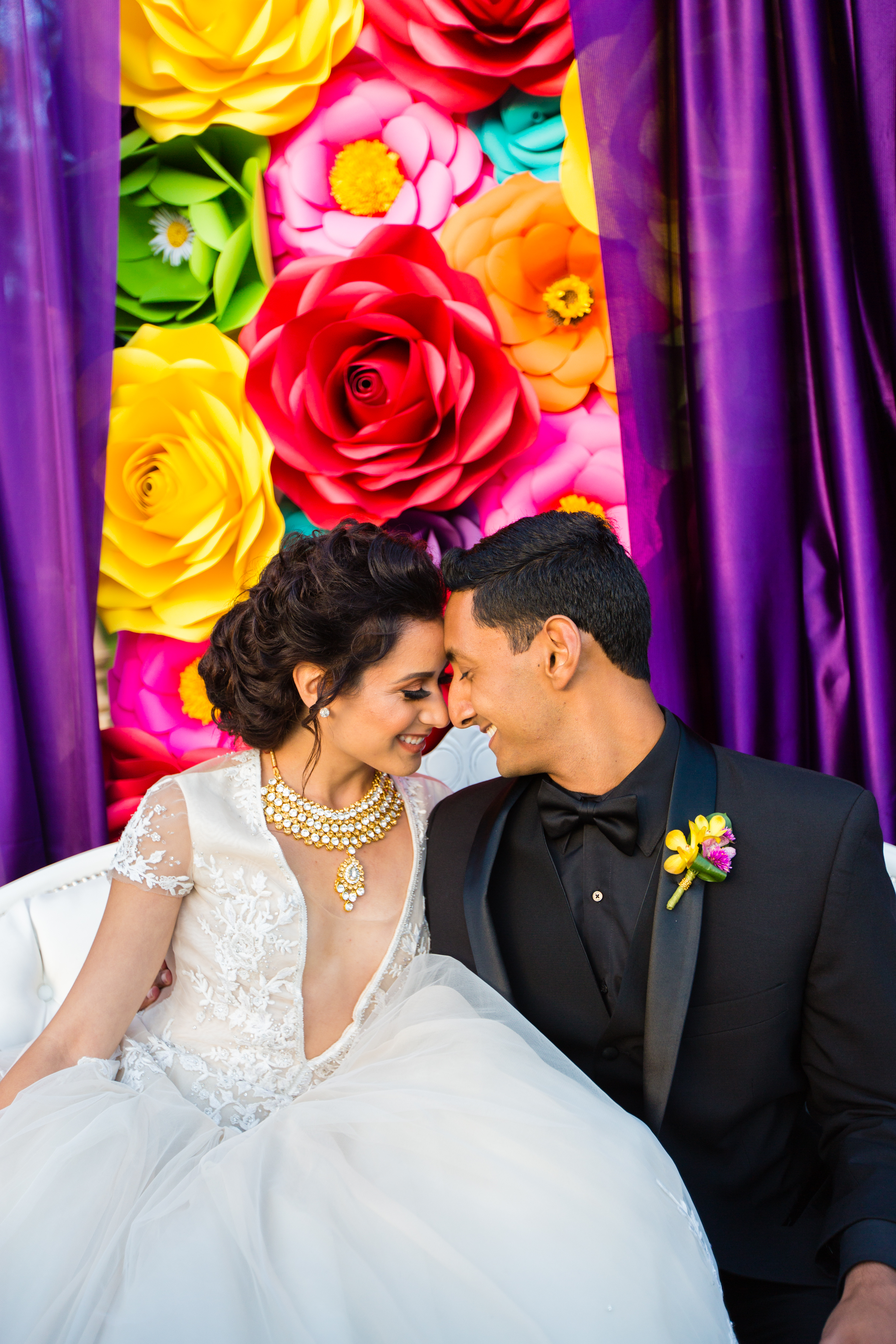 A Culmination of Color Styled Shoot for San Diego Style Weddings