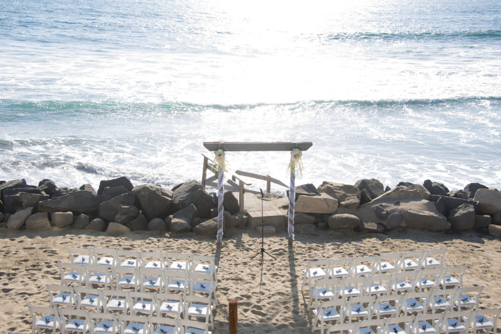 beach wedding, toes in sand wedding, beach ceremony venue
