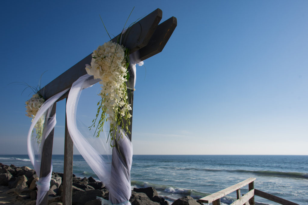 beach wedding, beach wedding ceremony, toes in sand wedding