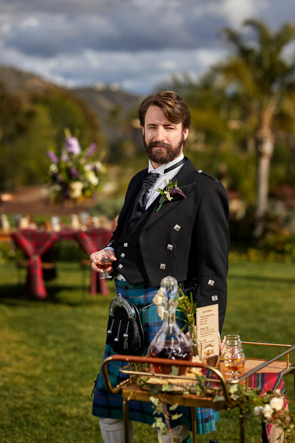 scottish groom, kily, celtic