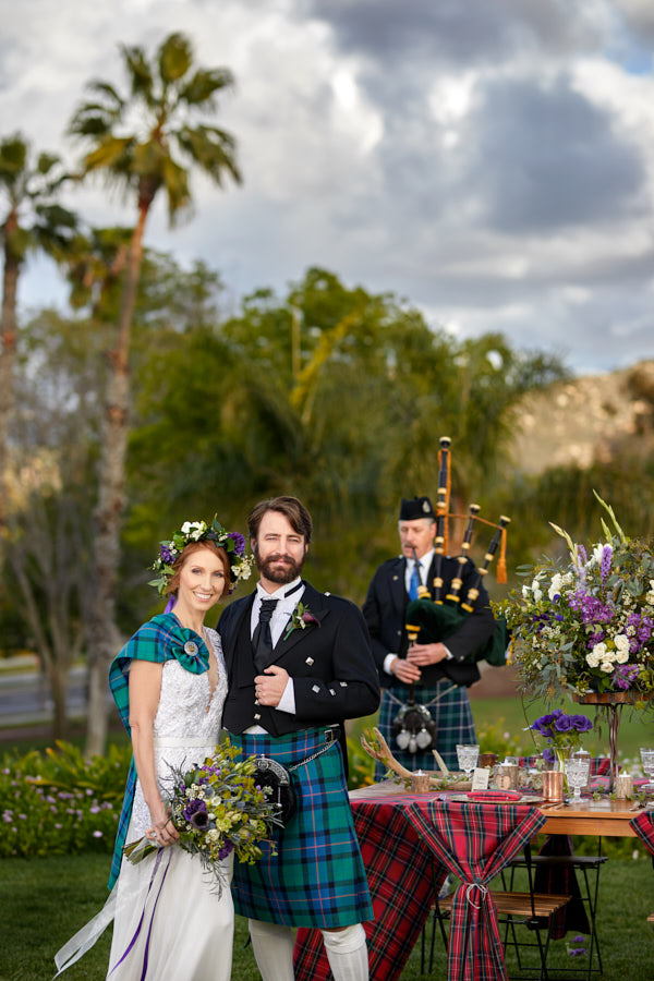 Celtic Love Styled Shoot for San Diego Style Weddings