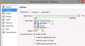 VirtualBox Configure For Linked Clones