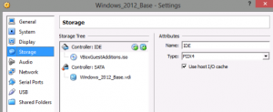 VirtualBox Attach ISO and SSD
