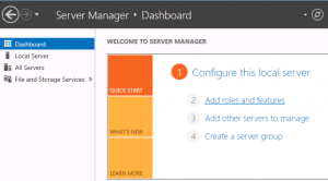 VirtualBox Add Role to Server 2012