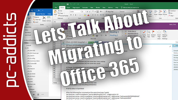 Chris Davis talks about Office 365 Migration at a Hospital