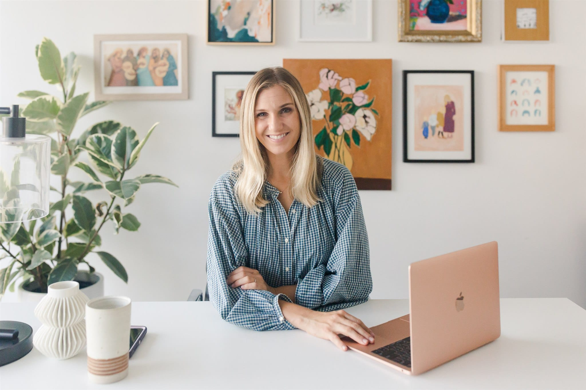 Take a Tour of Andrea's Head Mama Office Space