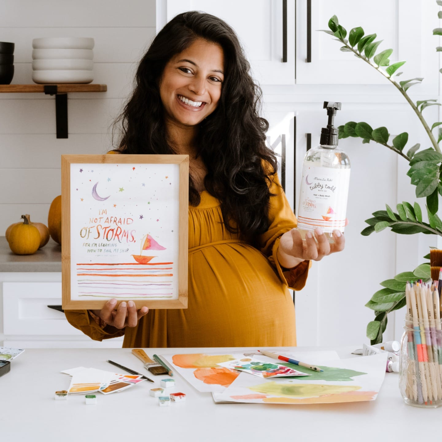 Meet Artist, Author and Mama: Meera Lee Patel