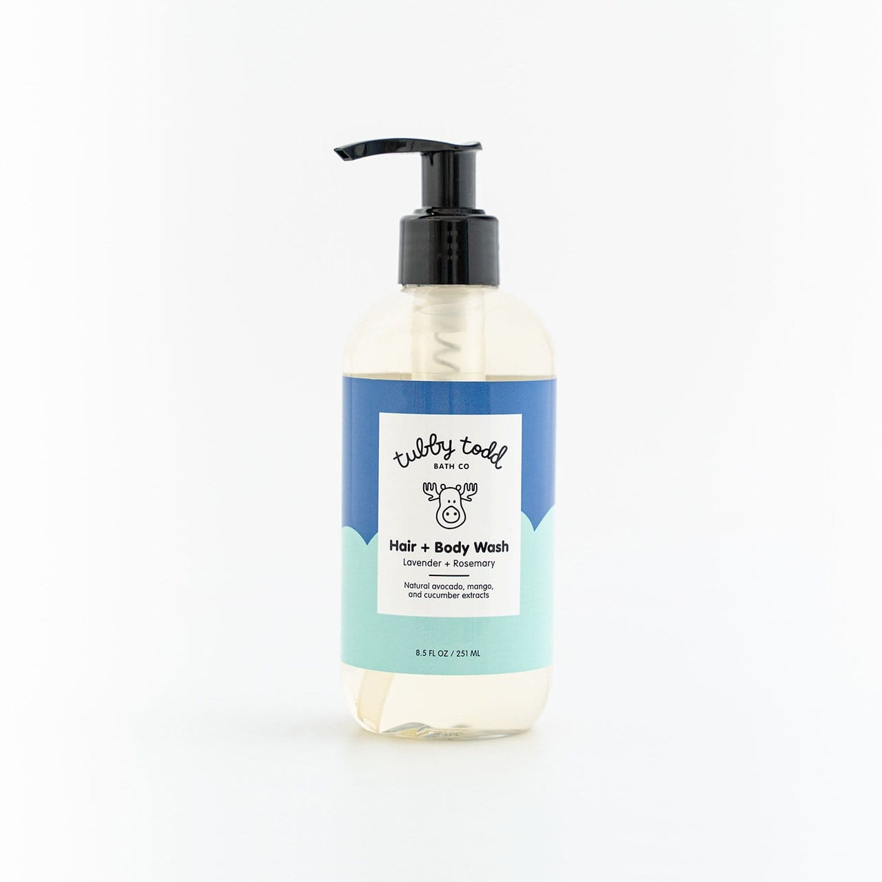 Lavender Rosemary Hair Body Wash 8.5 oz product image