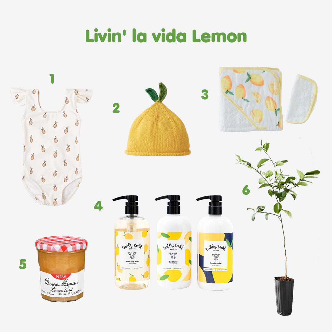 6 Favorite Lemon Treats