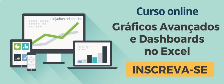 curso online dashboards no excel