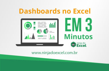 Dashboard no Excel em 3 Minutos – Curso Dashboards no Excel