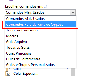 Comandos Fora para ativar o Power View no Excel