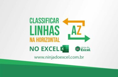Classificar Linhas na Horizontal