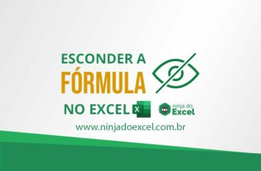 Esconder a fórmula no Excel