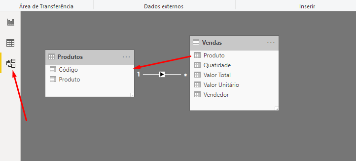 Criando relacionamentos no Power BI