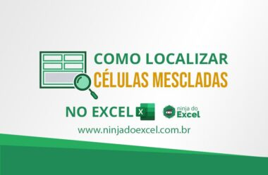 Como Encontrar Células Mescladas no Excel