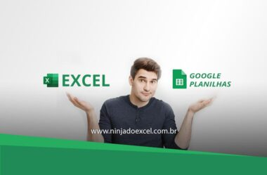 Excel x Google Planilhas