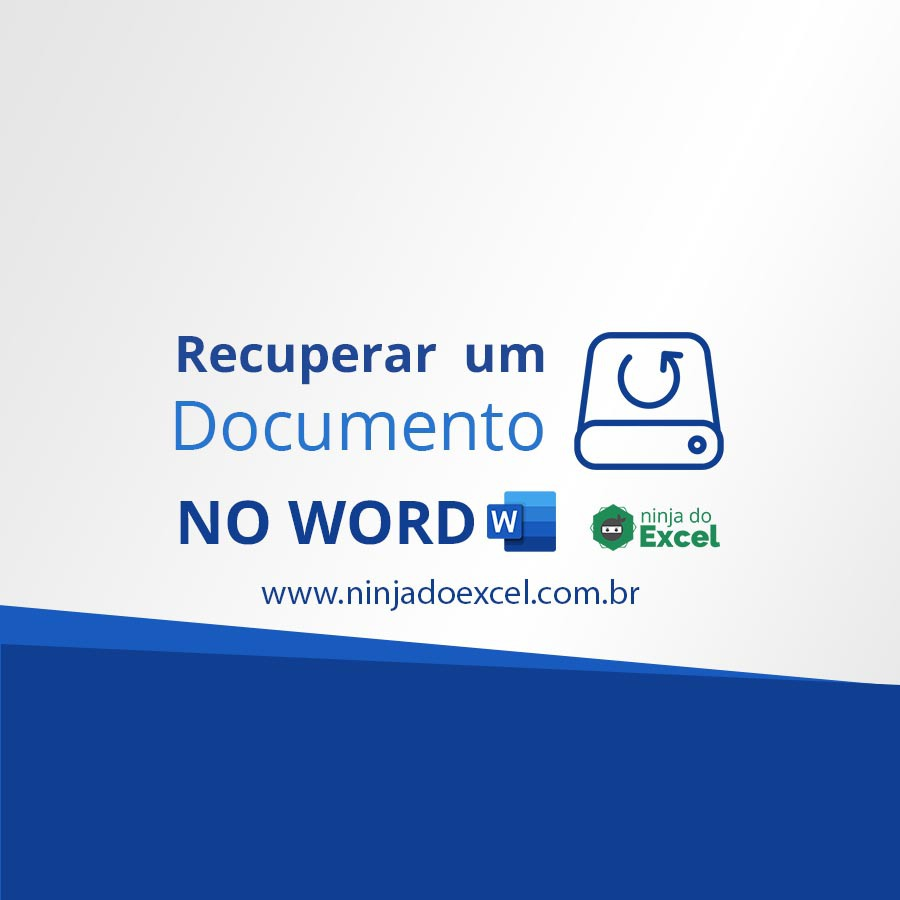 recuperar um documento no Word