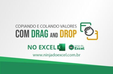 Drag and Drop no Excel – Como Utilizar