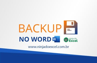 Backup no Word – Como não perder os seus Documentos