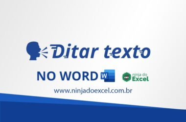 Ditar Texto no Word – Use sua VOZ para digitar um texto no Word